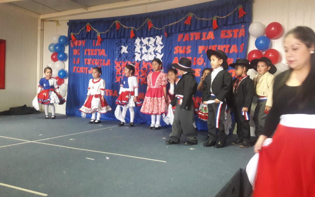Acto de Fiestas Patrias